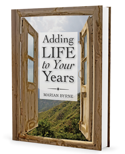 Cover of the book 'Adding Life to Your Years'.